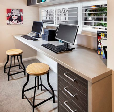 desk for two computers