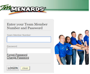 TM Menards Team Member Login