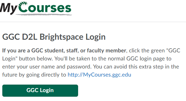 Georgia Gwinnett College Online Courses