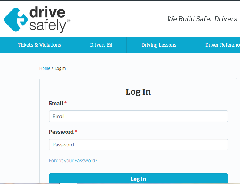 Login IDriveSafely